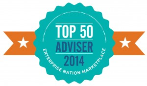 Enterprise Nation Top 50 Advisor Awards
