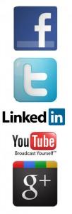 The Big 5 social media networks
