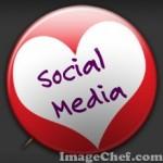 Social Media love badge