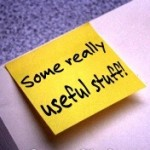 Some really useful stuff post it note