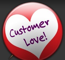Show your customers some love!