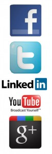 The Big 5 social media networks