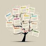 2012 calendar tree