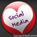 Social Media love badge